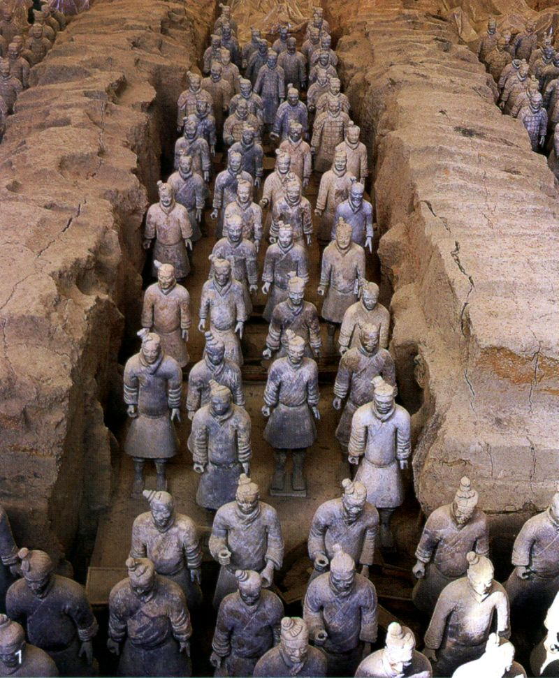 Terracotta Warriors at the ready