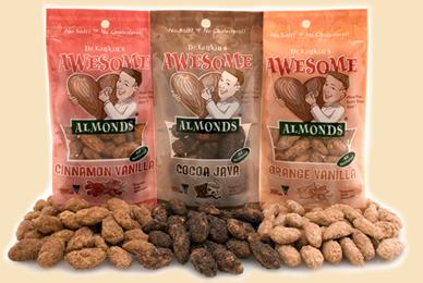 Almonds promote a healthier heart