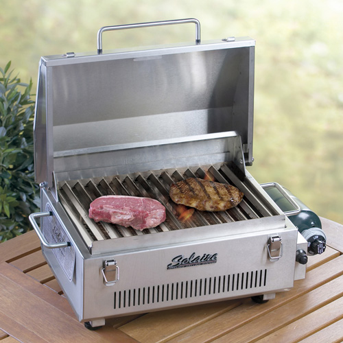 Solaire Grill takes the BBQ with you
