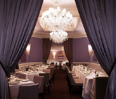 The classically elegant dining room at Picholine