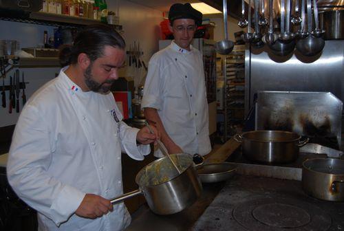 Behind the scenes at Bistro de Leon