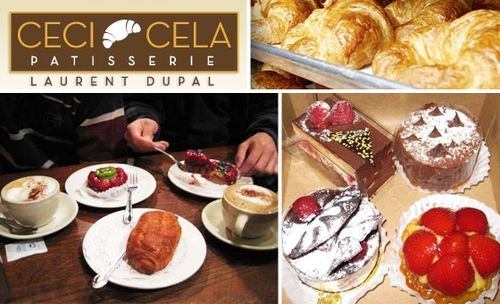 Sweet and savory delicacies at Ceci-Cela