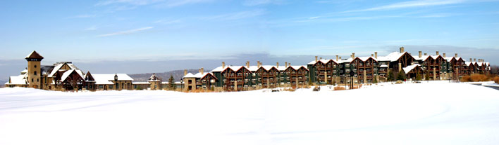 Crystal Springs Resort's winter wonderland