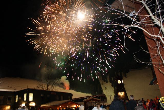 Fireworks Saturday night at Schweitzer Mountain