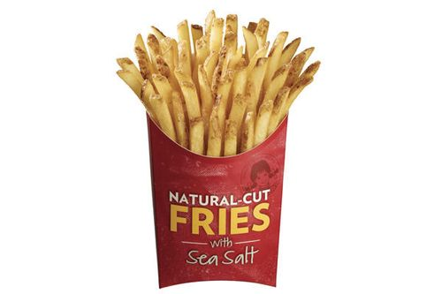 Wendy's new natural fries