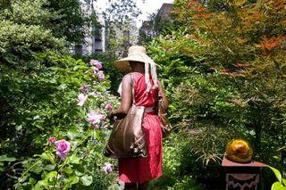 Enter the secret gardens of Brownstone Brooklyn