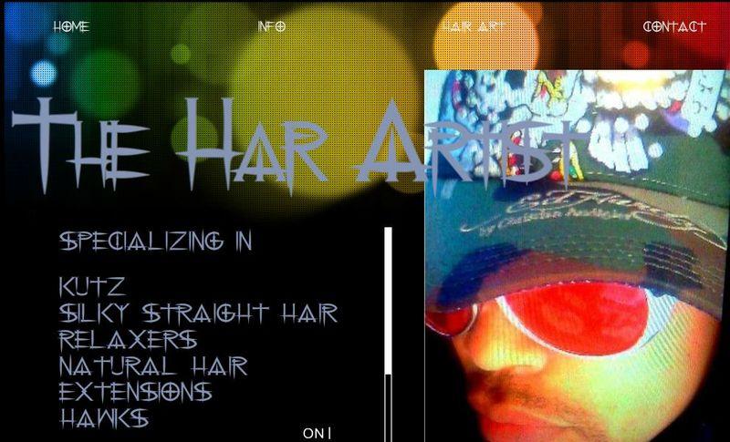 HAIR ARTIST WEB