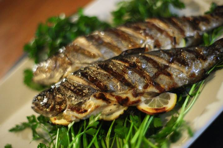 Grilled Whole Trout with Sam the Cooking Guy